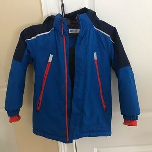 Boys super warm (ski) jacket 6-7
